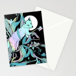 Wild Emergence (Warm Freeze) Stationery Cards