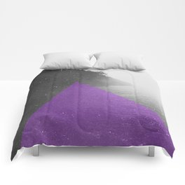 NEON NATURE | Purple Comforters