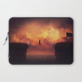 crossing the chasm Laptop Sleeve