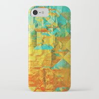 golden iPhone & iPod Cases featuring Golden by SensualPatterns