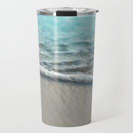 turquoise nature Travel Mug