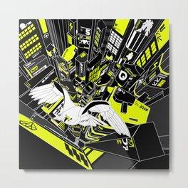 Horus Rising Metal Print