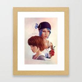 Life is Strange - fanart Framed Art Print