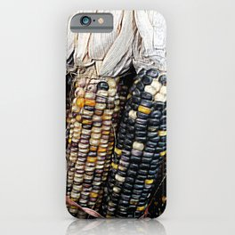 Painted Corn iPhone Case