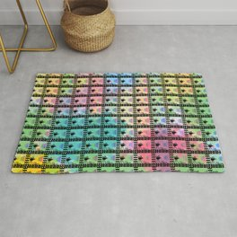 Retro movie pattern Rug