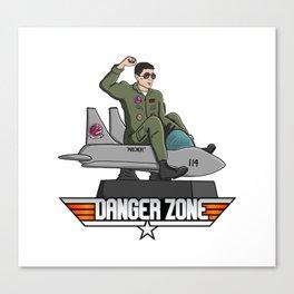 Danger Zone Canvas Print