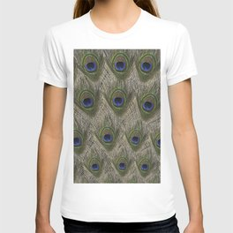 Peacock tail T-shirt