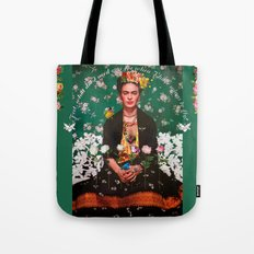 Wings To Fly Frida Tote Bag