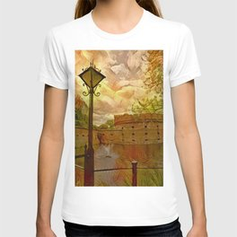 Old fort in the city of Kaliningrad T-shirt