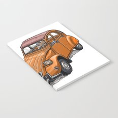 Orange 2CV Notebook