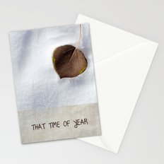 That Time of Year Stationery Cards