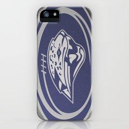 Mill Valley High School Jaguars Football iPhone Case