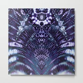 The Divinity of Blue Metal Print