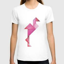 Tangram Flamingo T-shirt