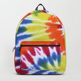Hipster Rainbow Tie-die tie dye Backpack