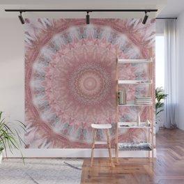 Mandala pink balance Wall Mural