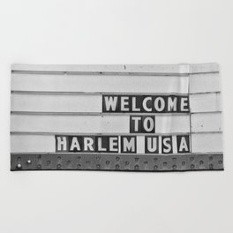 Welcome to Harlem Beach Towel