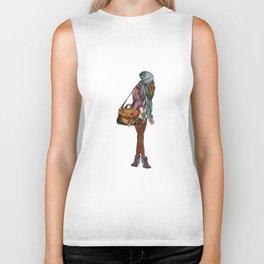 Fashion girl Biker Tank