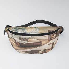 Map Making and Globe Fanny Pack