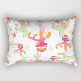 Cactus Family Day Rectangular Pillow