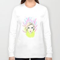 circus Long Sleeve T-shirts featuring circus by halorena