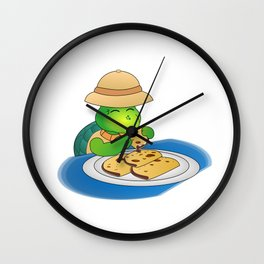 The Adventures of Mr. Turtle Wall Clock
