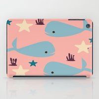 the whale iPad Cases featuring Whale by BruxaMagica_susycosta