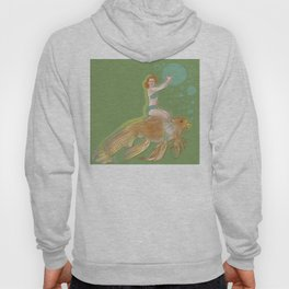Woman with Koi #1 Hoody