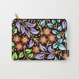 Filigree Flora Carry-All Pouch