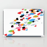 swimming iPad Cases featuring Swimming by Nicki Traikos