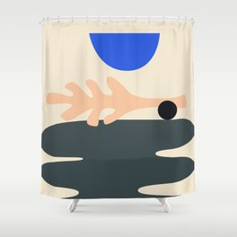 Shape study #15 - Stackable Collection Shower Curtain
