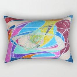 Unraveled Rectangular Pillow