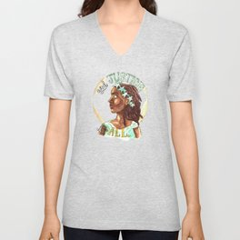 Liberty and Justice For All Unisex V-Neck
