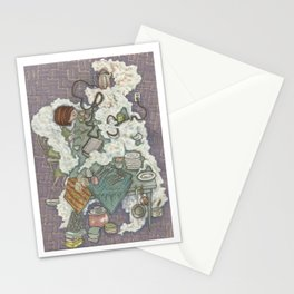 The Steam Curls Stationery Cards