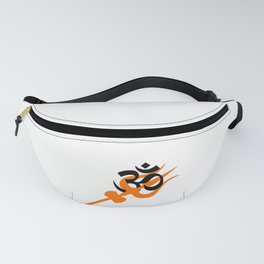 Trishul and Om Lord Shiva Fanny Pack