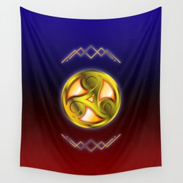 Triskelion Mystery Wall Tapestry