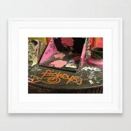 Beautiful Graffiti Framed Art Print