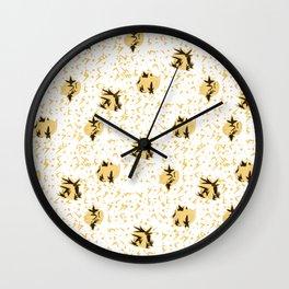 Yellow Chub Bird Wall Clock