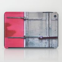 memphis iPad Cases featuring Memphis Window by wendygray