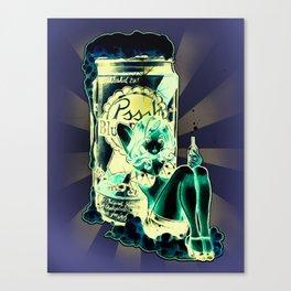 BLUE RIBBON PRINCESS Canvas Print