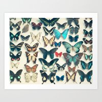 wings Art Prints featuring Wings by Cassia Beck