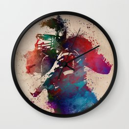 Rugby Wall Clock