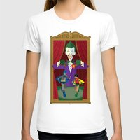 theater T-shirts featuring Joker's Theater by Szoki