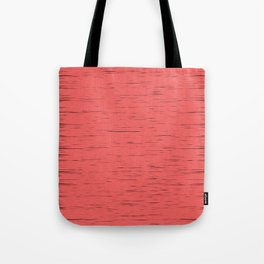 LIVING CORAL - WITH DARK FRAYED EDGES Tote Bag