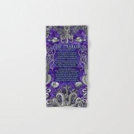 The Kraken (Purple) Hand & Bath Towel