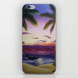 Sleep by the Sea iPhone Skin
