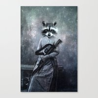 gangster Canvas Prints featuring Gangster by ppatphoto