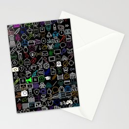 ICONS Overdrive II (Black) Stationery Cards