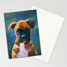 The Boxer - Dog Portrait Stationery Cards