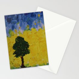 YELLOW SKIES Stationery Cards